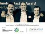 rankingCoach WINS Deloitte's Technology Fast 50 Award 2018