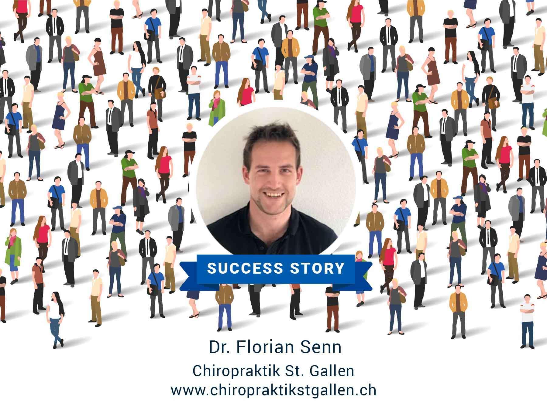 Dr. Florian Senn und die Erfolgsgeschichte derChiropraktik St. Gallen