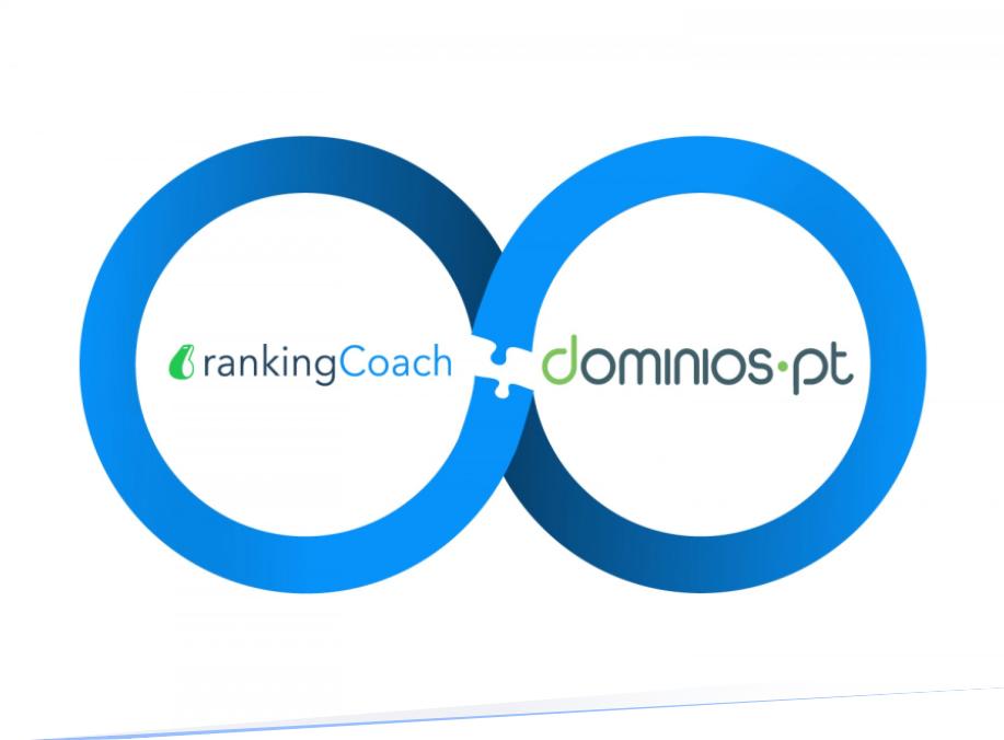rankingCoach announces partnership with Dominios.pt