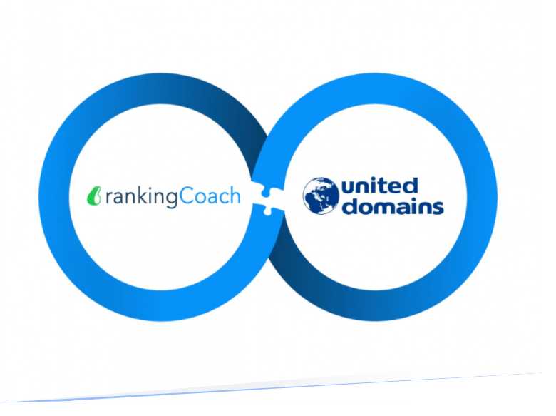 rankingCoach Welcomes united-domains as New Partner