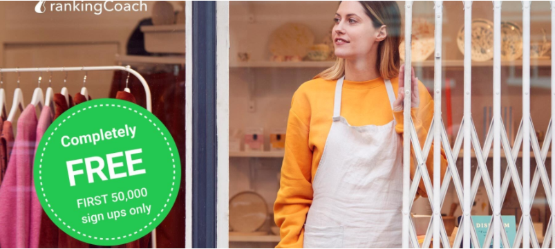 rankingCoach Launches Free Limited Edition to Support 50,000 Small Businesses