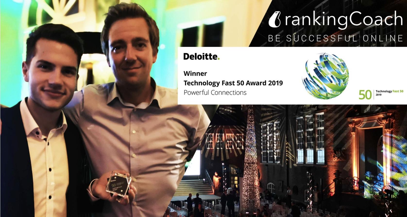 Deloitte Selects rankingCoach Again as Technology Fast 50 Tech Company 2019