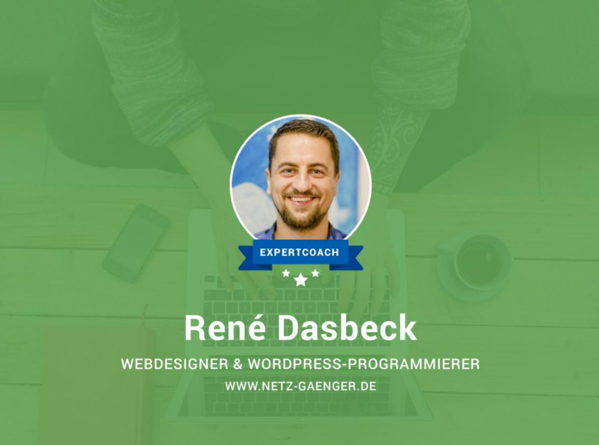 expertCoach -René Dasbeck - Wordpress und die Webseite der Zukunft