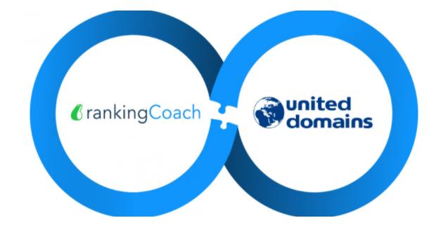 rankingCoach begrüßt united-domains als neuen Partner