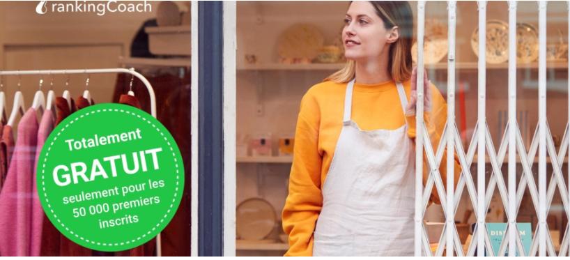 rankingCoach lance une offre gratuite limitée pour aider 50 000 PME